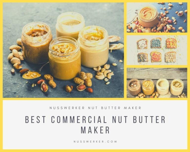 commercial nut butter machine